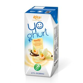 Aseptic 200ml Vanilla Yoghurt