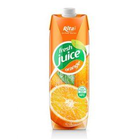 Box 1L Fresh Fruit Orange From Tropical Fruit