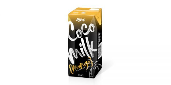 Coco Milk With Mango In Aseptic 200ml