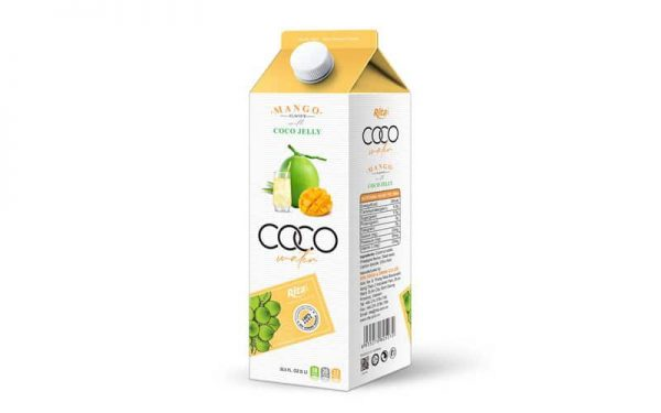 Coconut Jelly Water With Mango Flavour