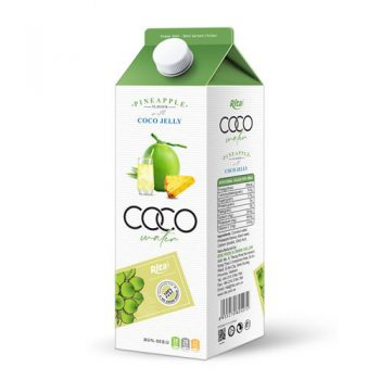 Coconut Jelly Water With Pineapple Flavour
