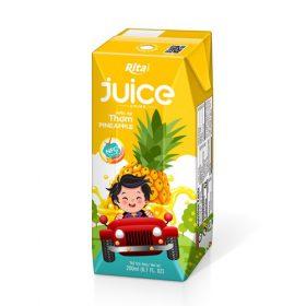 Kids Pineapple Juice 200ml