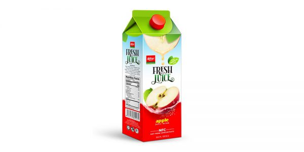 Wholesale Paper Box 1L Apple Juice