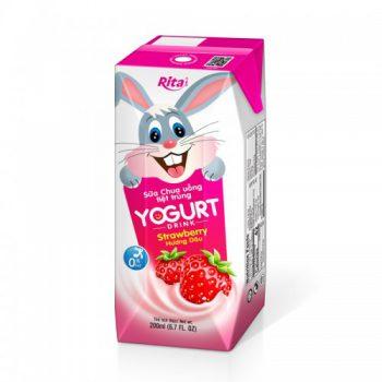 Kids Yogurt With Strawberry Flavor 200ml