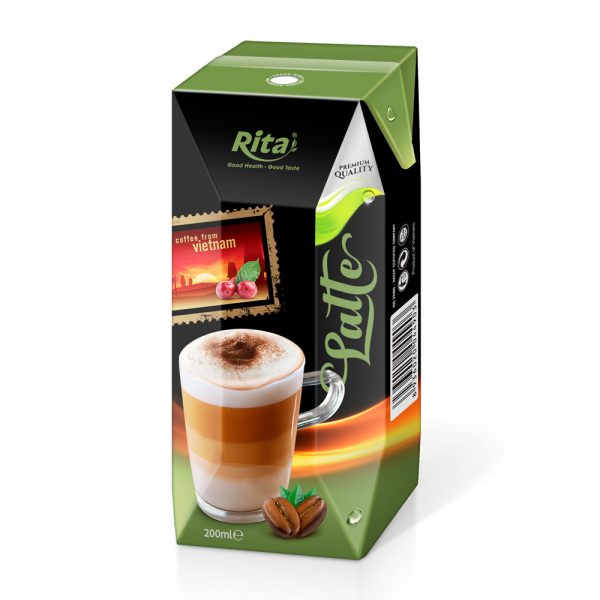 Premium Latte coffee 200ml 01