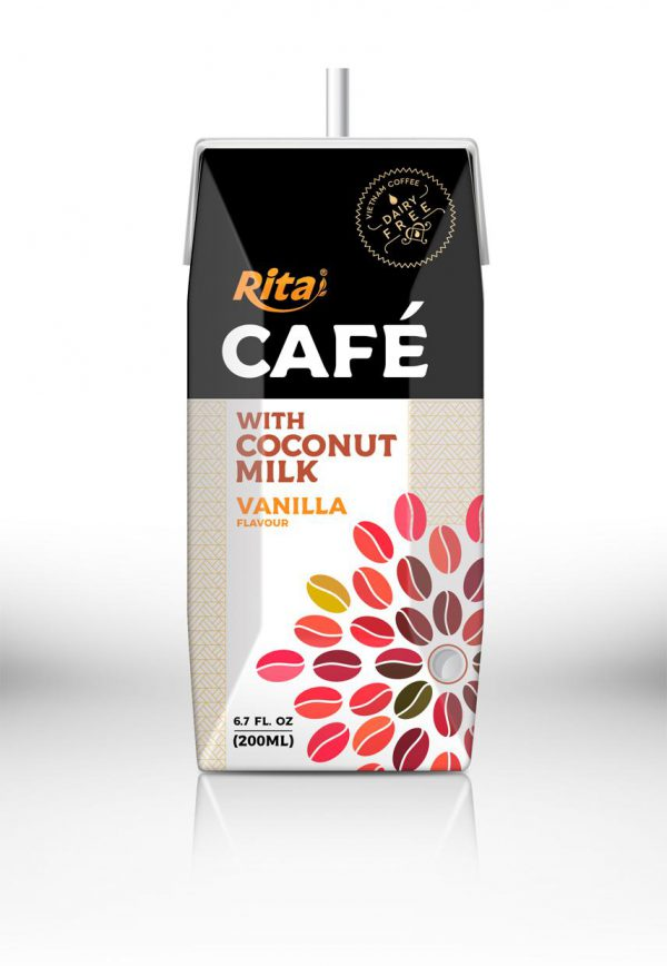 coffee drink with coconut milk