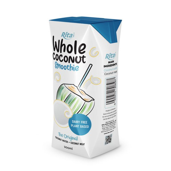 Whole Coconut Smoothie original 200ml aseptic