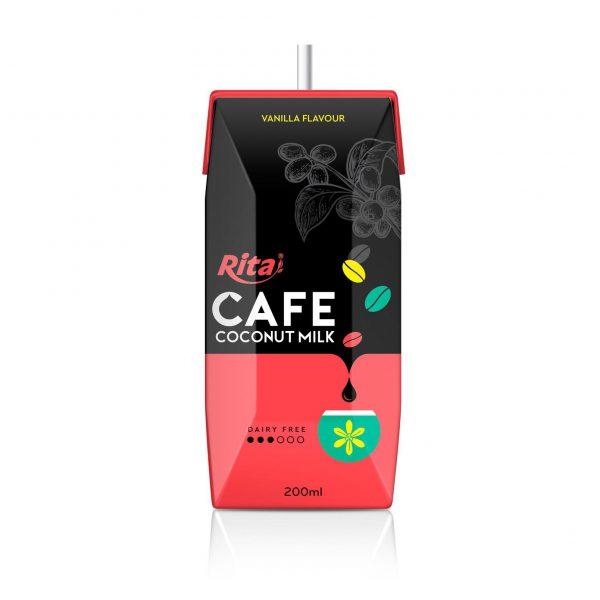 coffee coconut milk vanilla flavour private brand