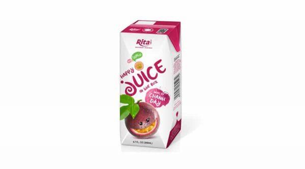 Fruit Passion juice