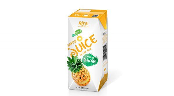 Pineapple juice 200ml