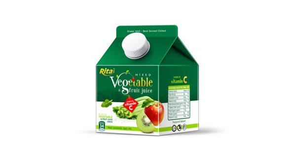 Mixed Vegetable Fruit Juice 350ml