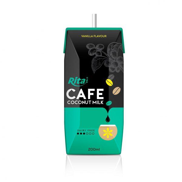 coffee coconut milk private brand