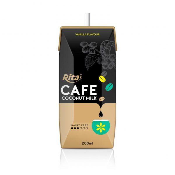 coffee coconut milk vanilla flavor private brand
